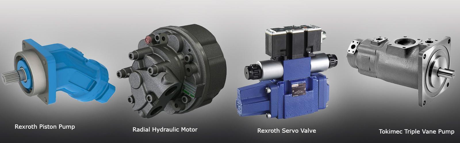 Hydraulic Motor, Pump and Valve